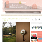 I love farm weddings blog feature