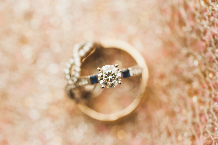 wedding rings (by Spindle Photography)